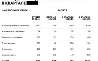 Коммунальные платежи в апартаментах 2020 — расчет, жкх