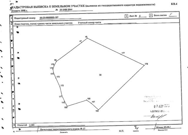 Выписка из ЕГРН на земельный участок 2020 - из Росреестра, образец, расширенная, онлайн