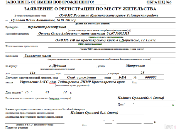 Сроки прописки (регистрации) 2020 - в МФЦ, временной, постоянной, новорожденного ребенка, после выписки, штрафы, в паспорте
