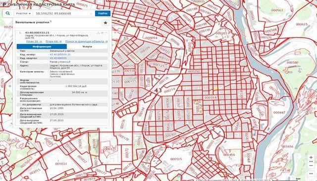 Реестр земельных участков 2020 - кадастровый, единый, Госреестр, на карте