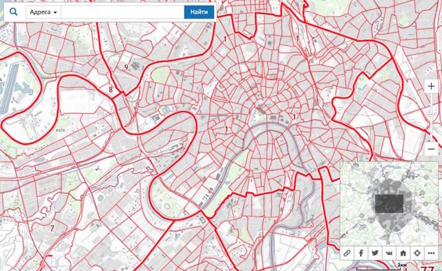 Публичная кадастровая карта земельных участков 2020 - границы, стоимость