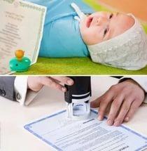 Прописка ребенка (регистрация) 2020 - несовершеннолетнего, по месту жительства отца, матери, что нужно, где прописать после рождения, новорожденного, временная для школы, заявление, штраф, чем грозит собственнику